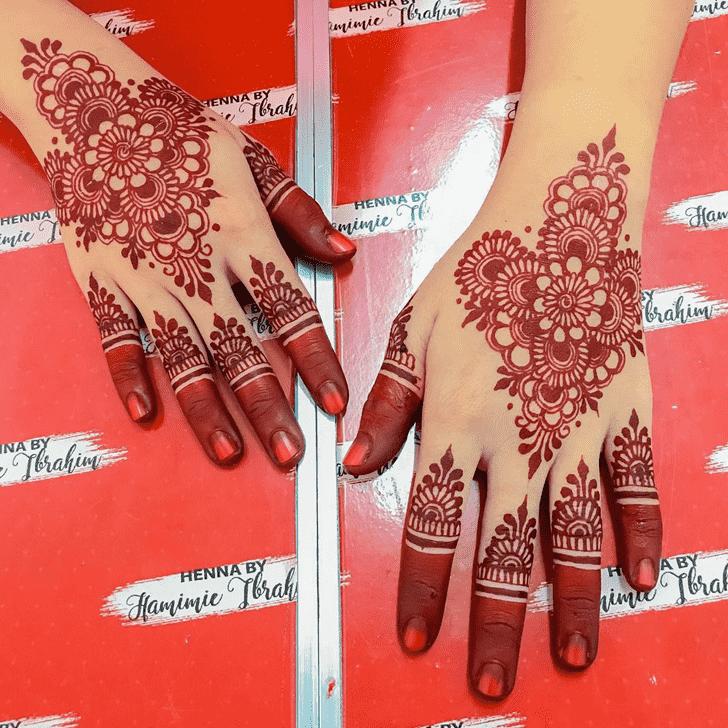 Fetching Tiruchirappalli Henna Design