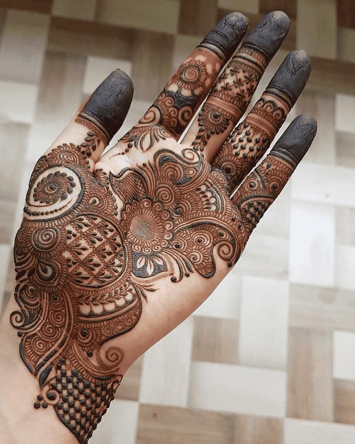 Awesome Tiruchirappalli Henna Design