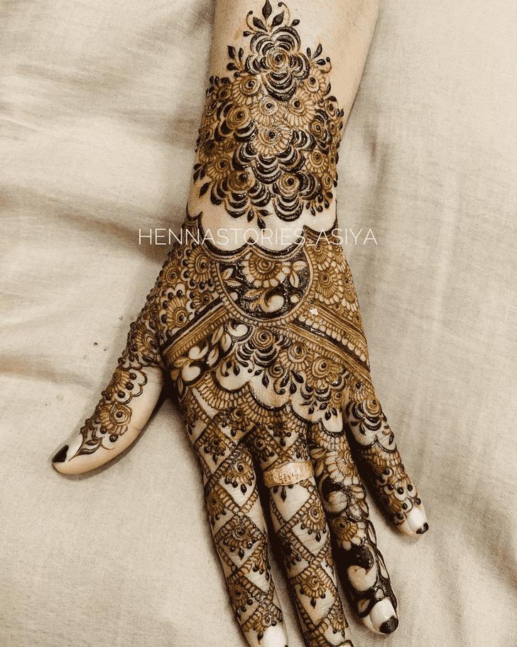 Inviting Tiruchirappalli Henna Design