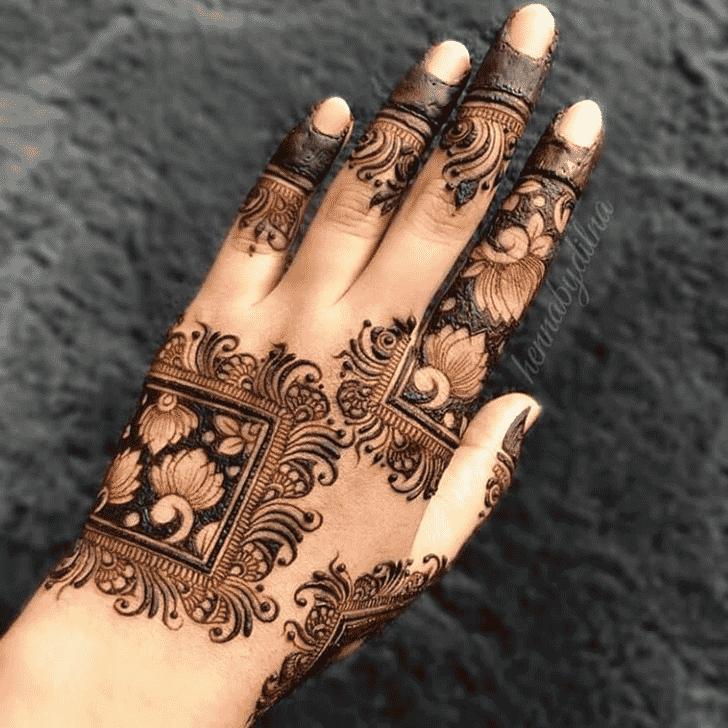 Marvelous Tiruchirappalli Henna Design