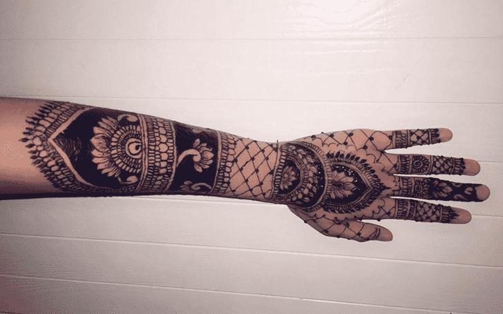 Superb Tiruchirappalli Henna Design