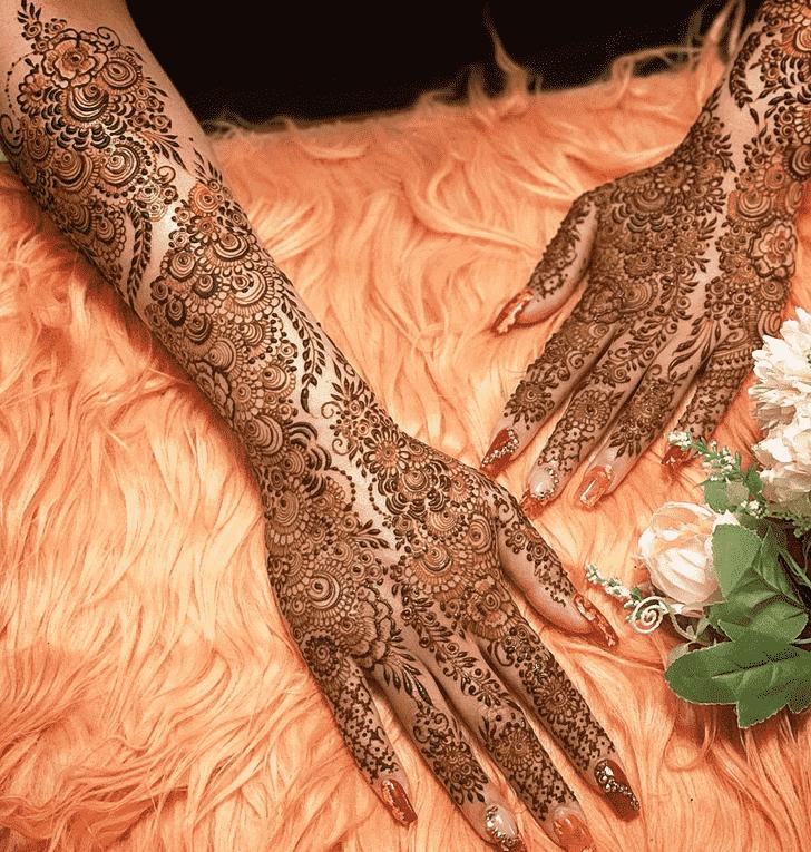 Bewitching Tokyo Henna Design