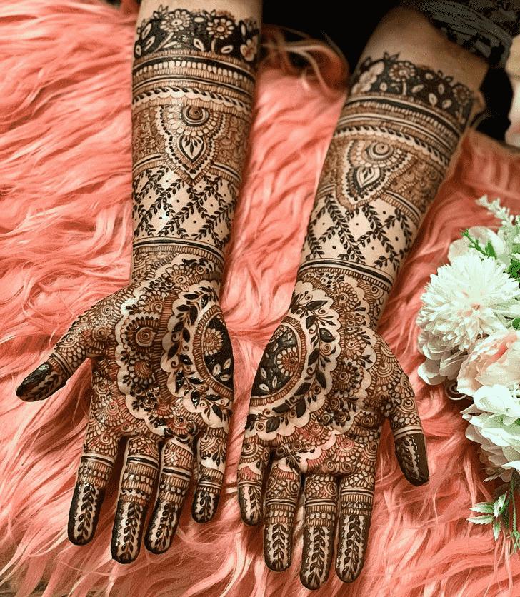Captivating Tokyo Henna Design