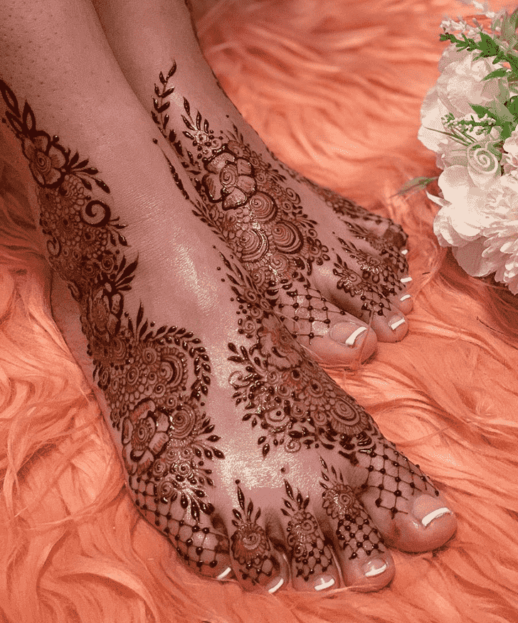 Charming Tokyo Henna Design
