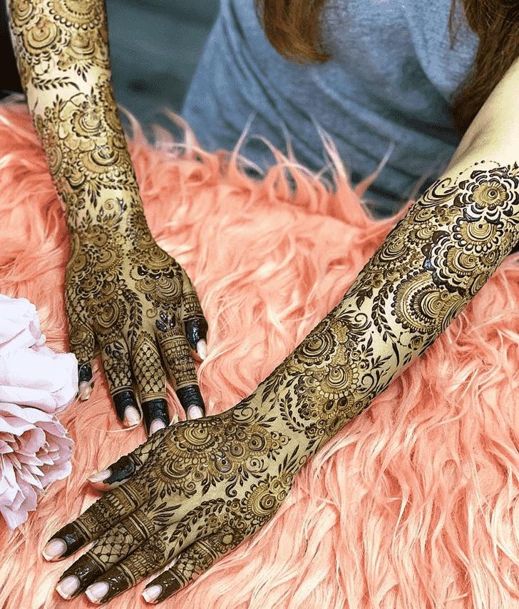 Arm Tokyo Henna Design