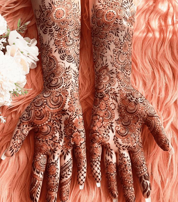 Elegant Tokyo Henna Design