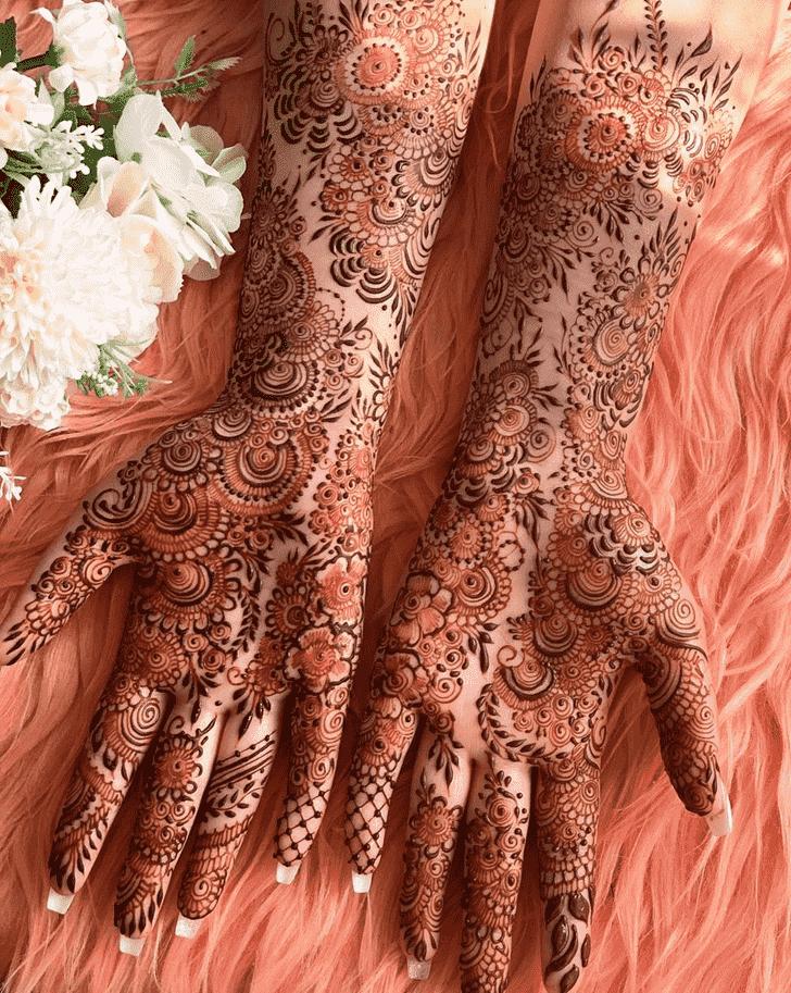 Enticing Tokyo Henna Design