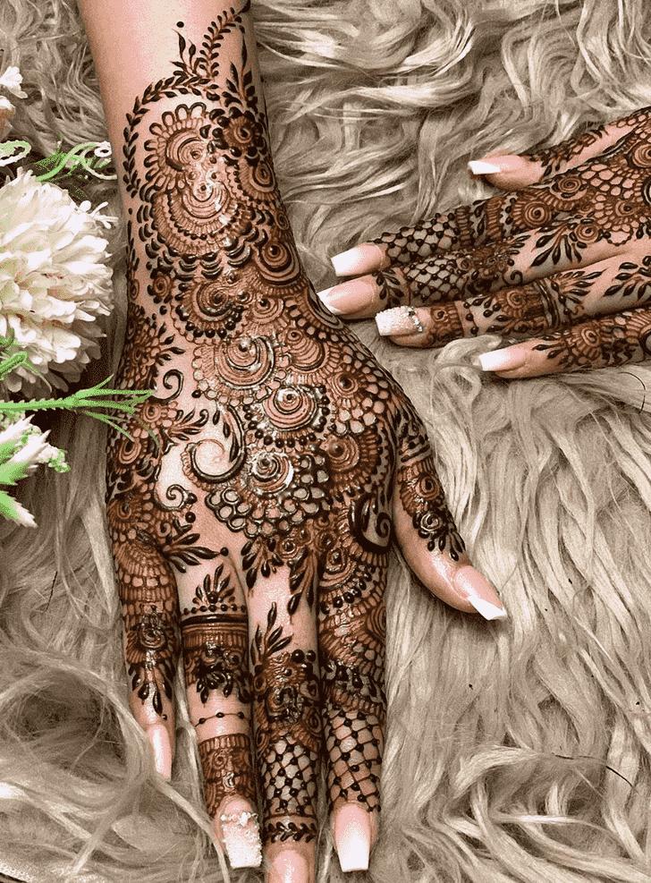 Pleasing Tokyo Henna Design