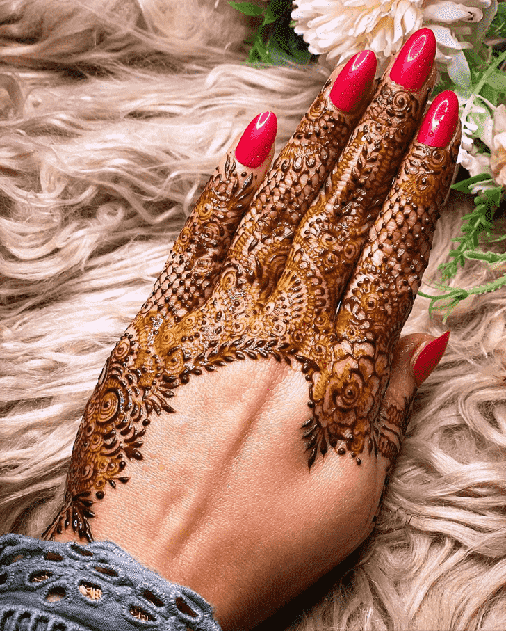 Stunning Tokyo Henna Design