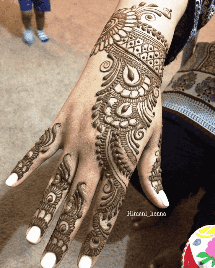 Beauteous Toronto Henna Design