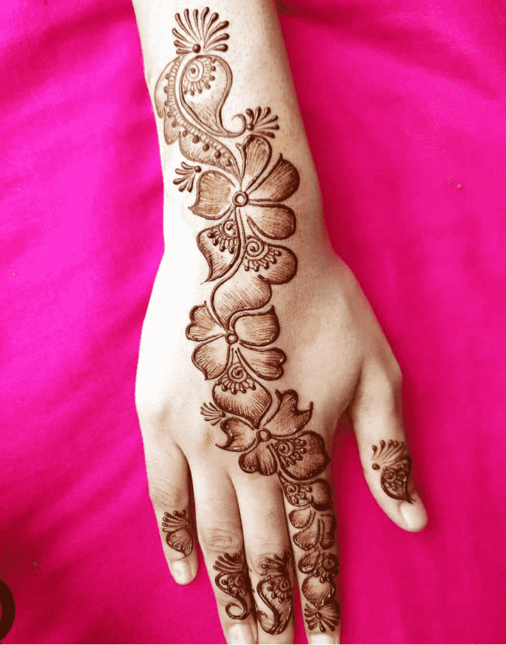 Captivating Toronto Henna Design
