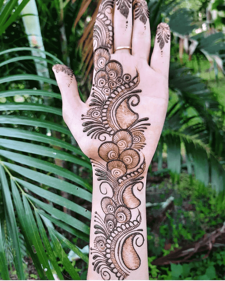 Classy Toronto Henna Design