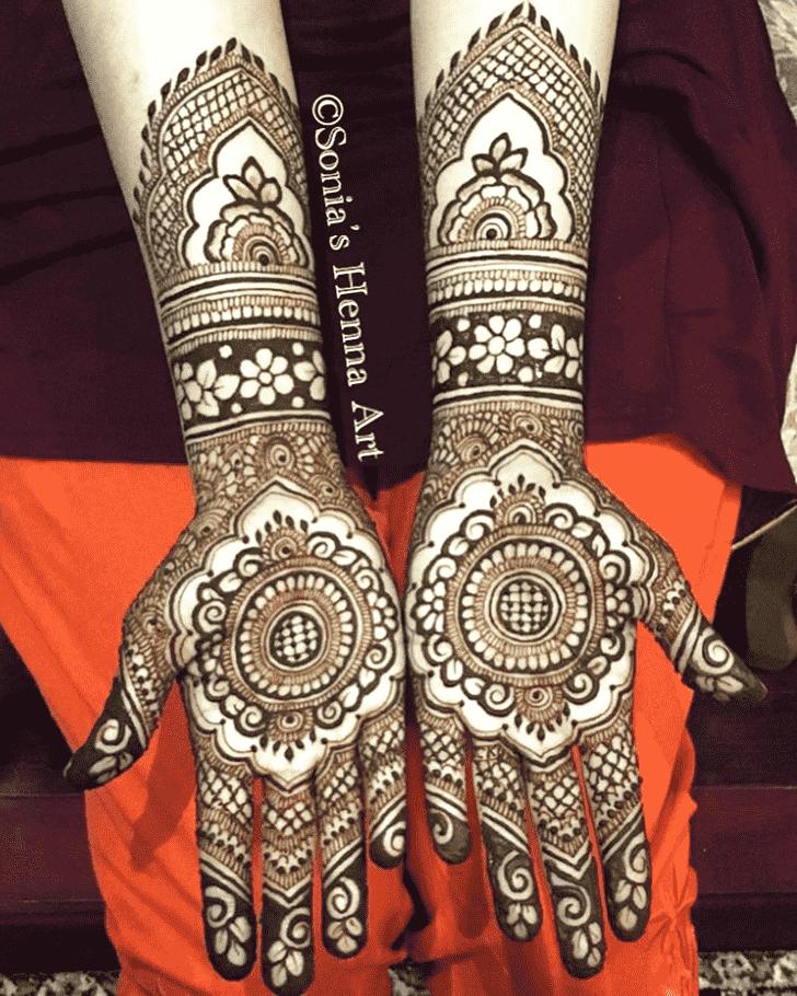 Alluring Turkish Henna design