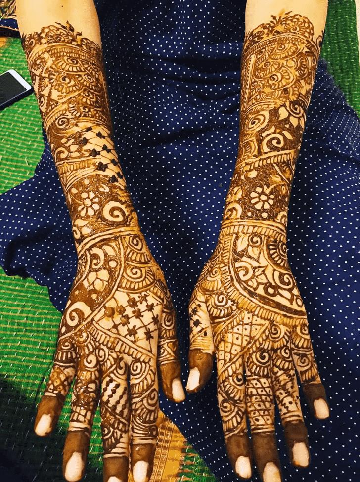 Adorable Udaipur Henna Design