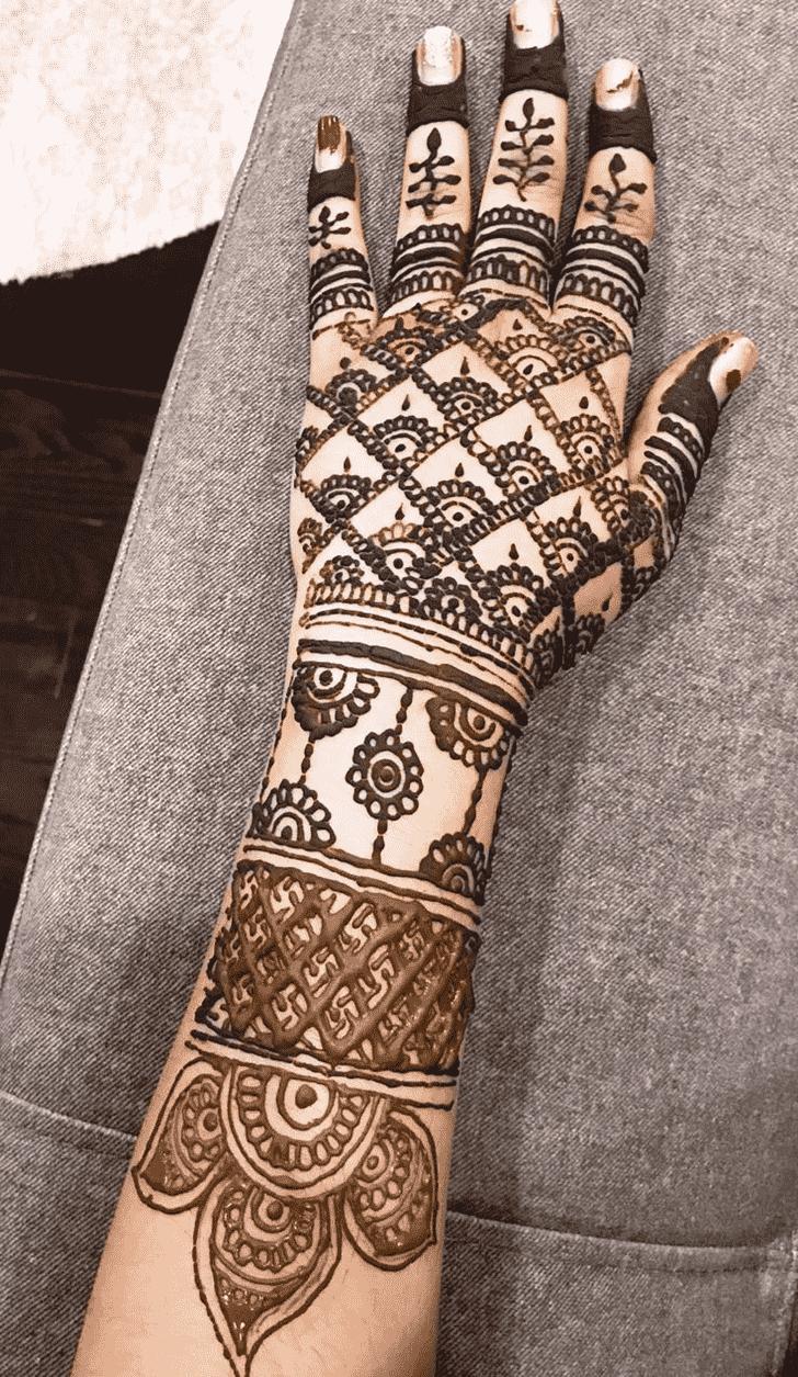 Angelic Udaipur Henna Design