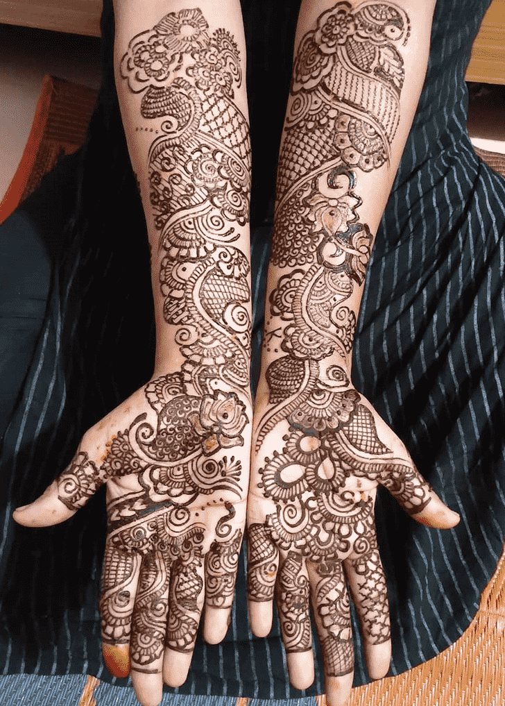 Beauteous Udaipur Henna Design