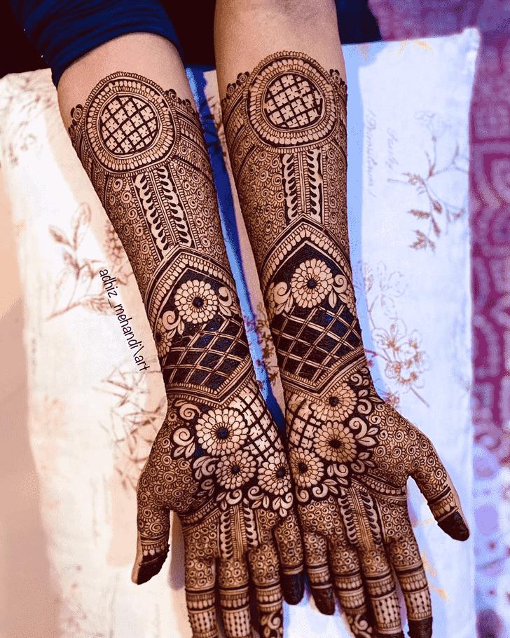 Admirable Unique Mehndi Design