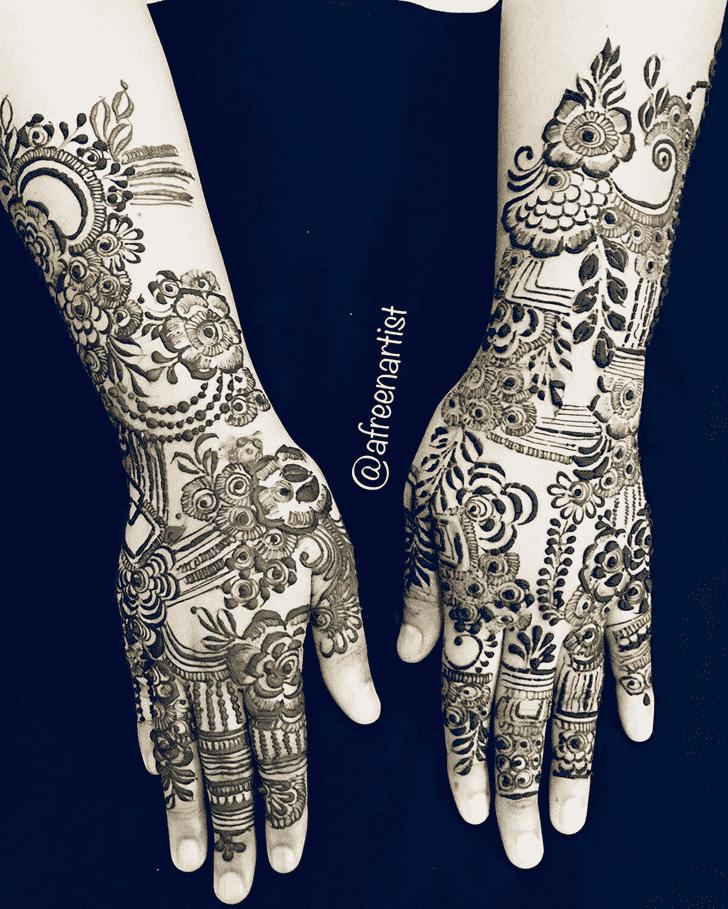 Angelic Unique Henna Design