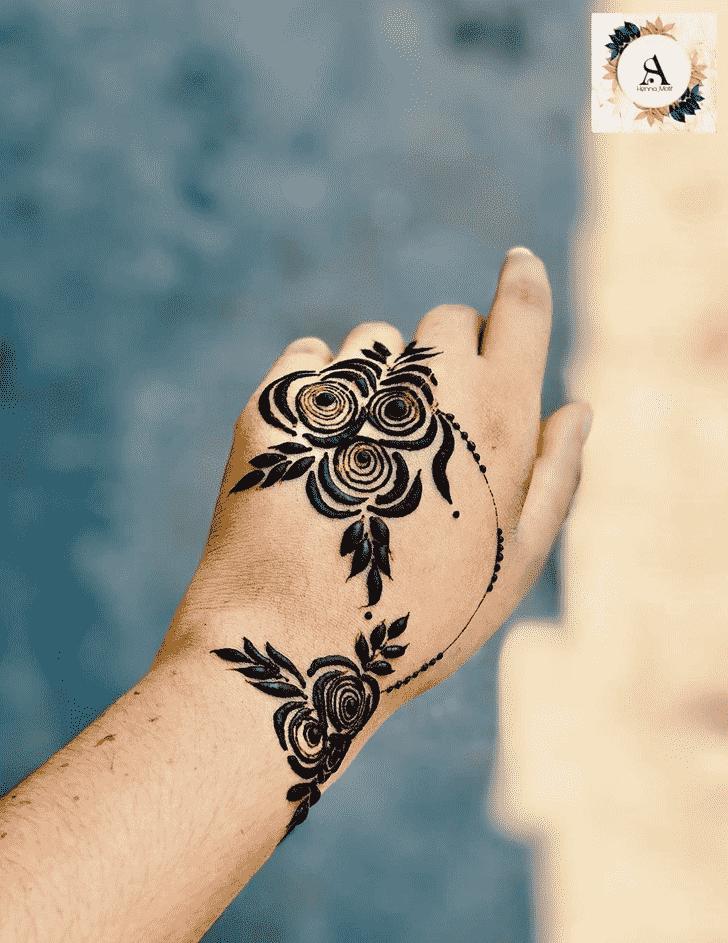 Captivating Unique Henna Design