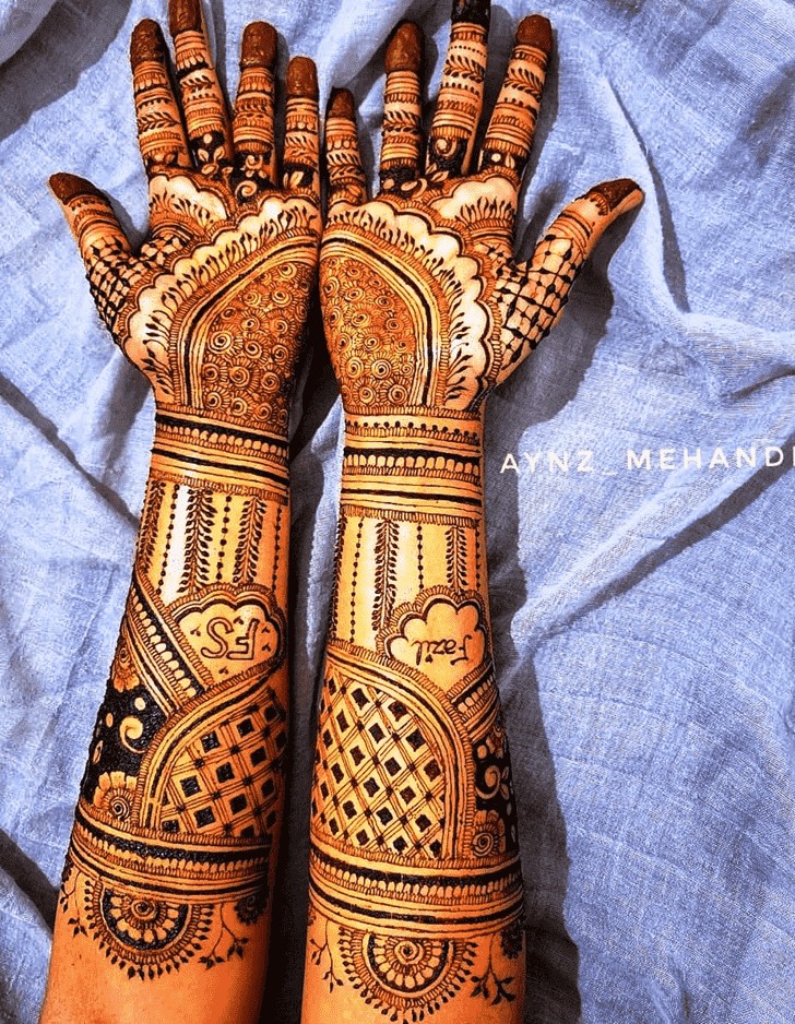 Classy Unique Henna Design