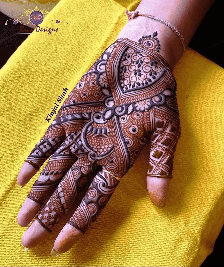 Fascinating Unique Henna Design