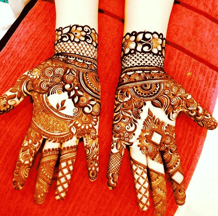 Gorgeous Unique Henna Design