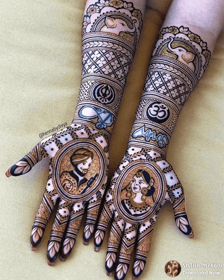 Magnificent Unique Henna Design