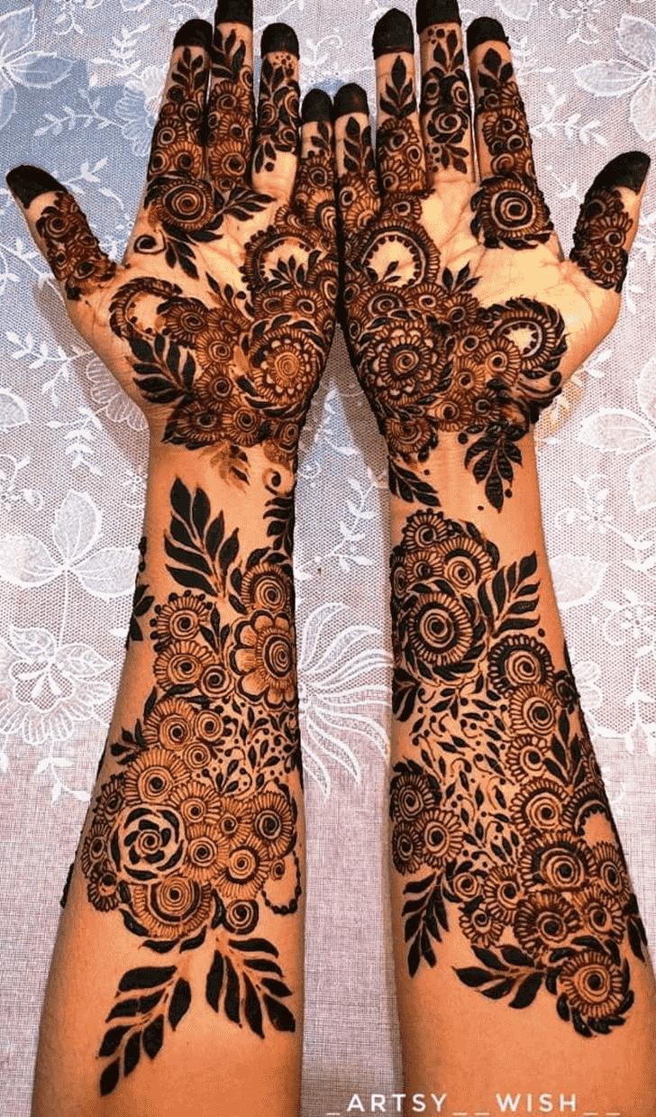 Nice Unique Henna Design