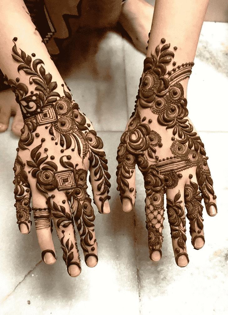 Ravishing Unique Henna Design