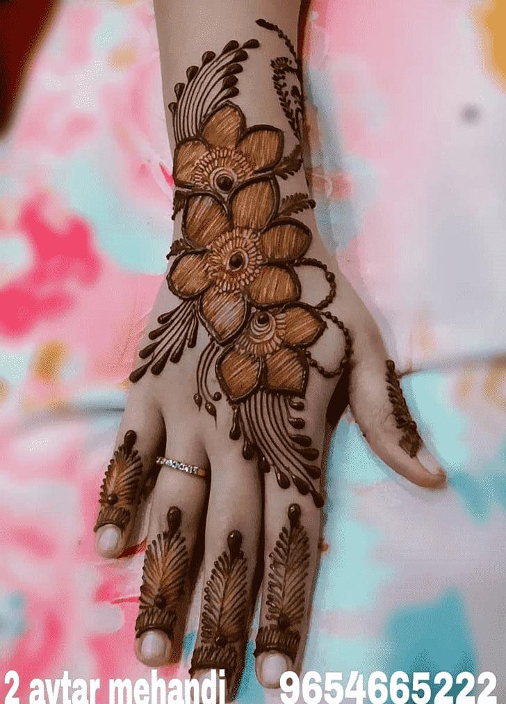 Slightly Unique Henna Design
