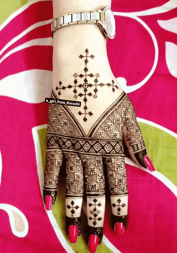 Splendid Unique Henna Design