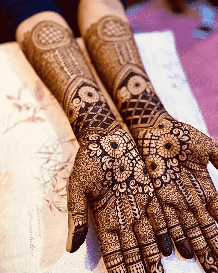 Stunning Unique Henna Design