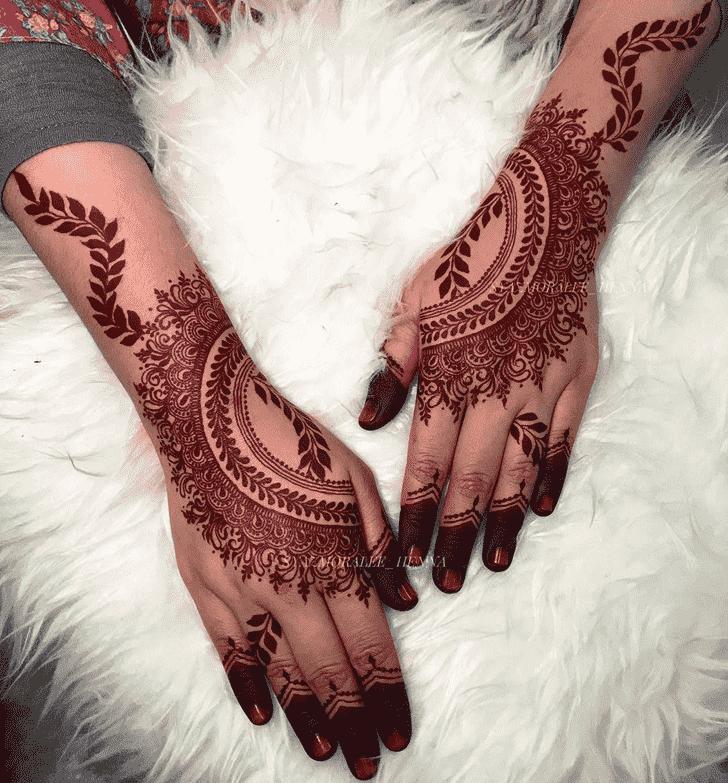 Alluring United Kingdom Henna Design
