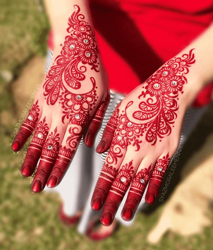 Appealing United Kingdom Henna Design