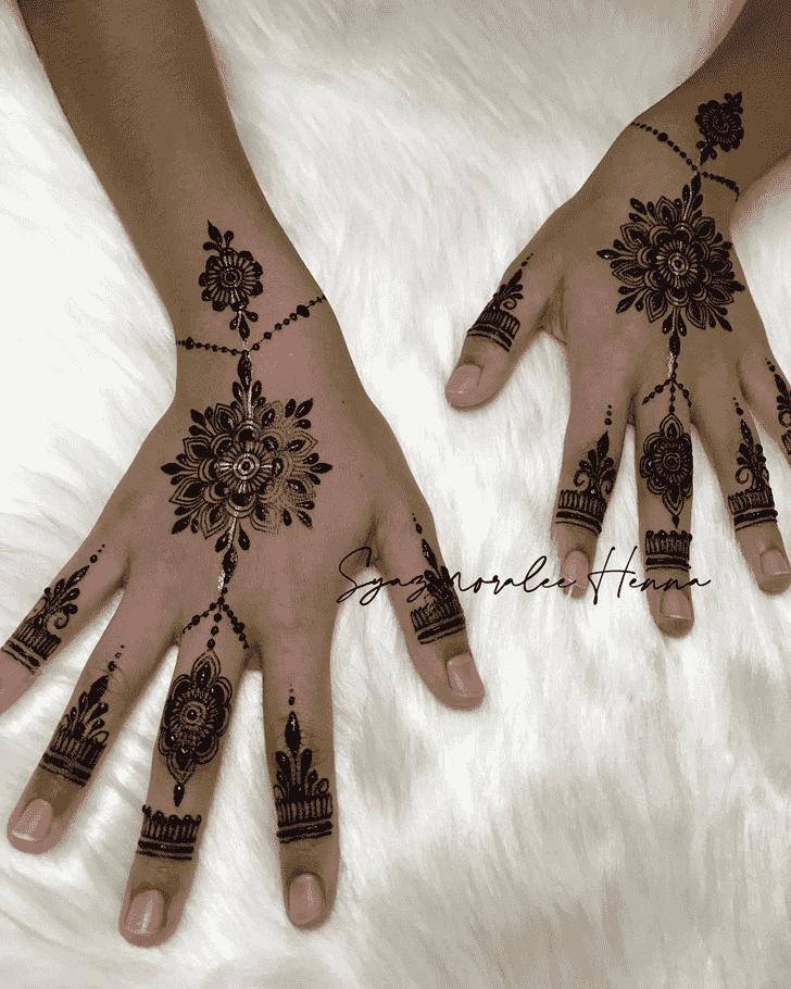 Bewitching United Kingdom Henna Design