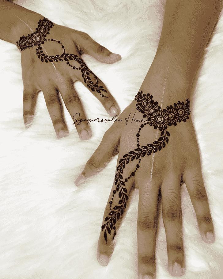 Captivating United Kingdom Henna Design