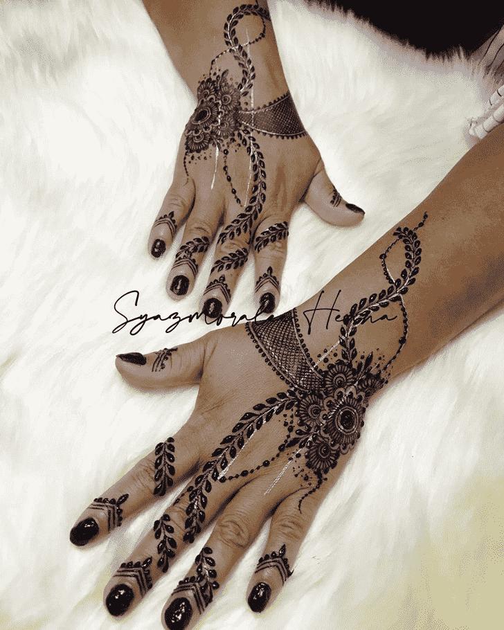 Classy United Kingdom Henna Design
