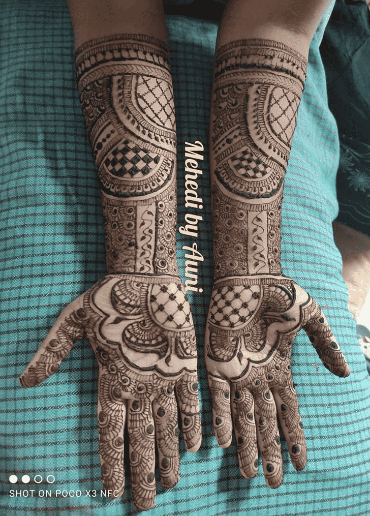 Admirable Vadodara Mehndi Design