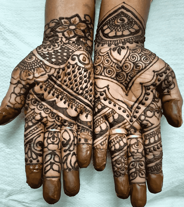Beauteous Vadodara Henna Design