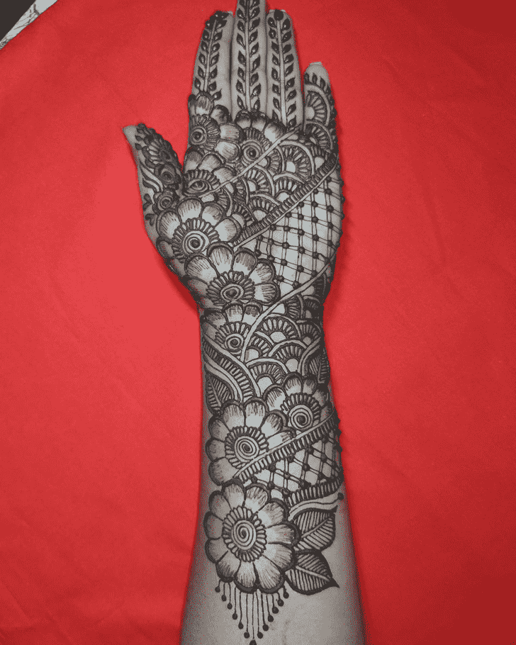 Arm Vadodara Henna Design