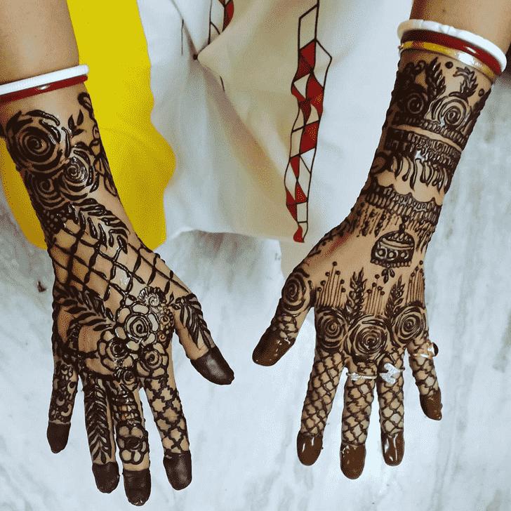 Ideal Vadodara Henna Design