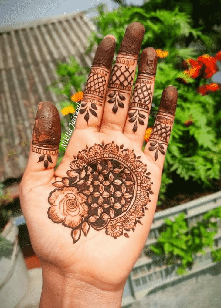 Lovely Vadodara Mehndi Design