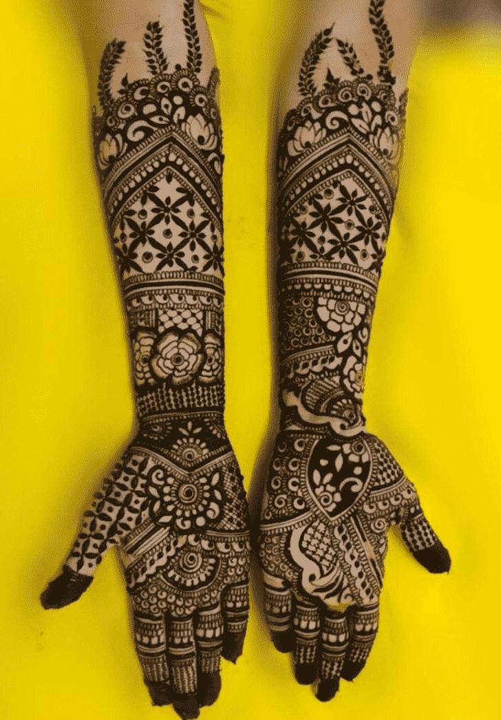 Mesmeric Vadodara Henna Design