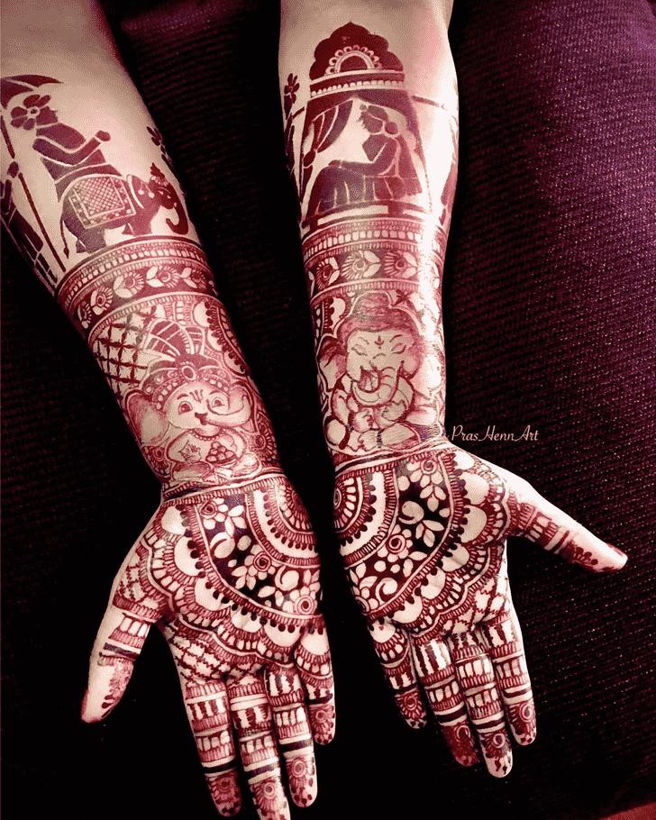 Pretty Vadodara Henna Design