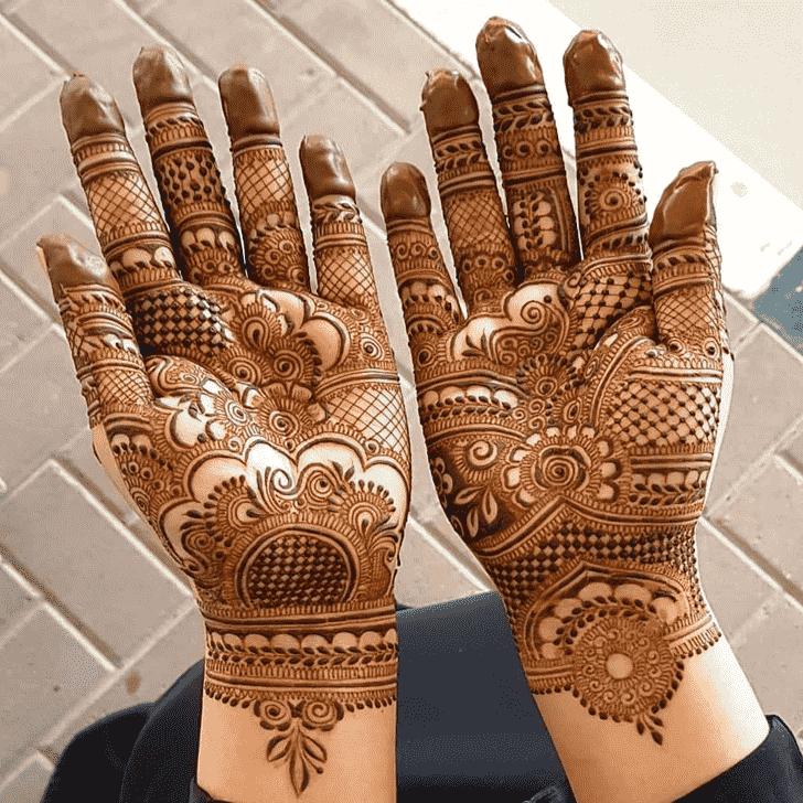 Adorable Vancouver Henna Design