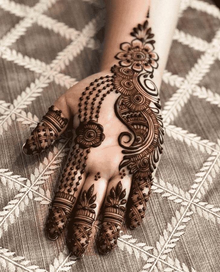 Alluring Vancouver Henna Design
