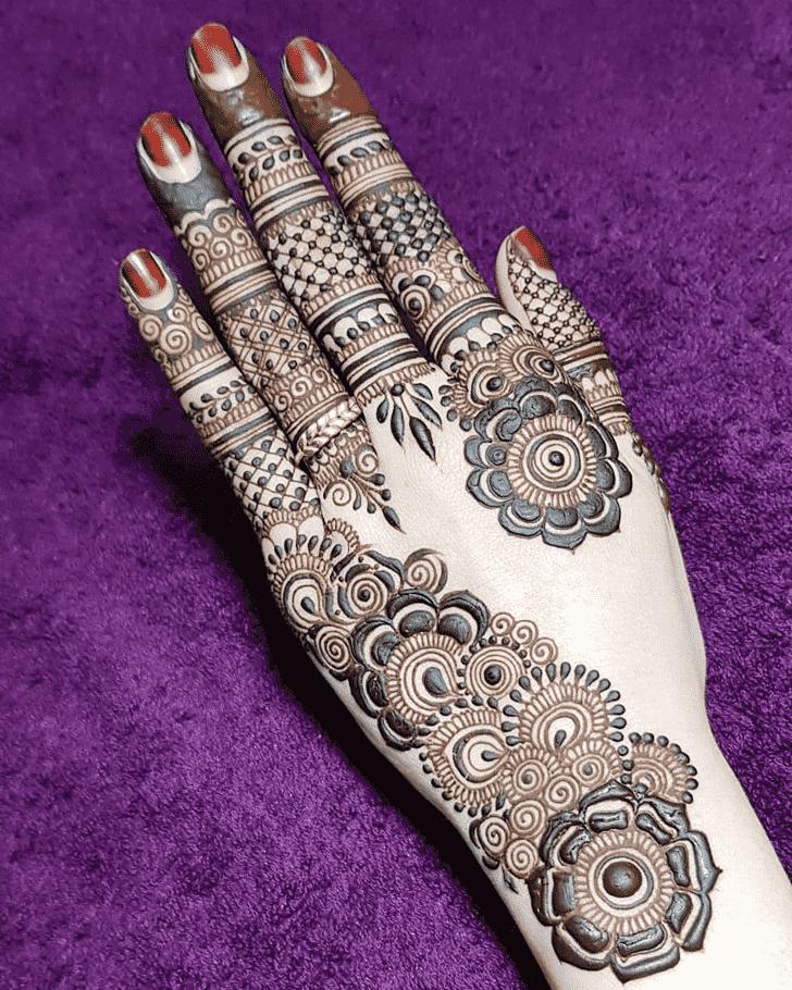 Angelic Vancouver Henna Design