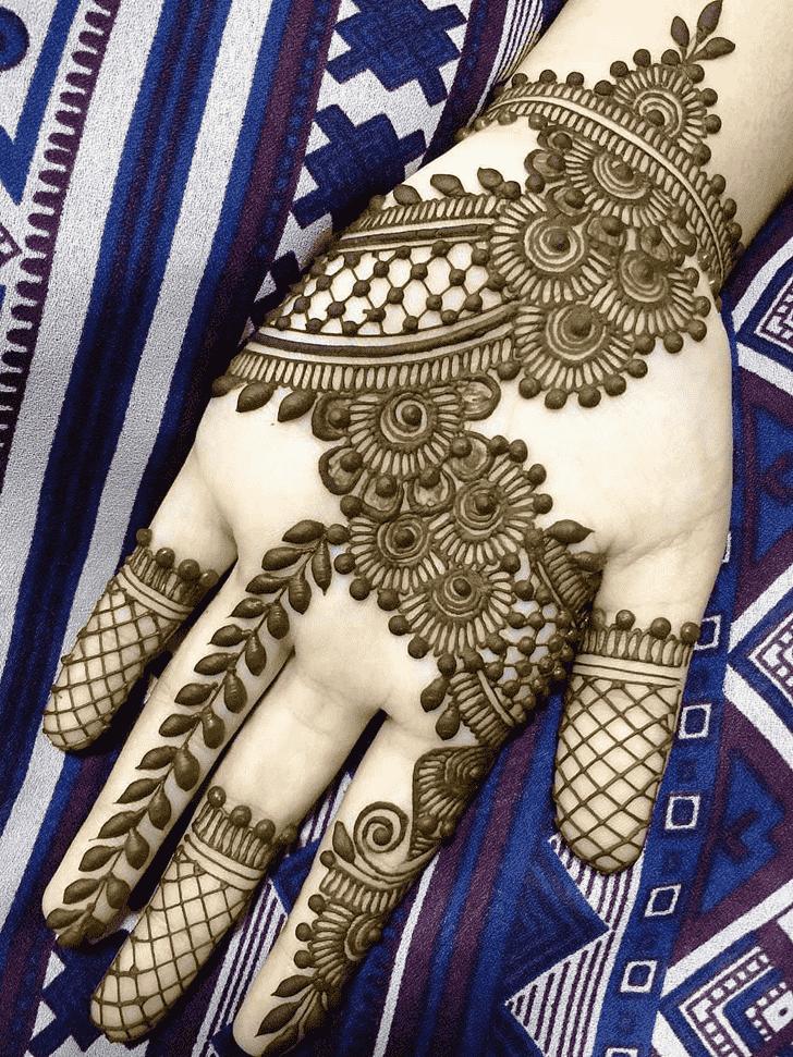 Appealing Vancouver Henna Design