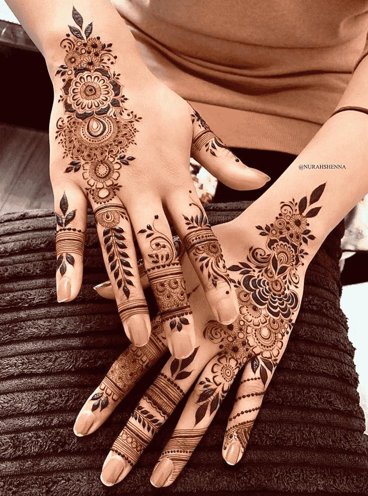 Beauteous Vancouver Henna Design