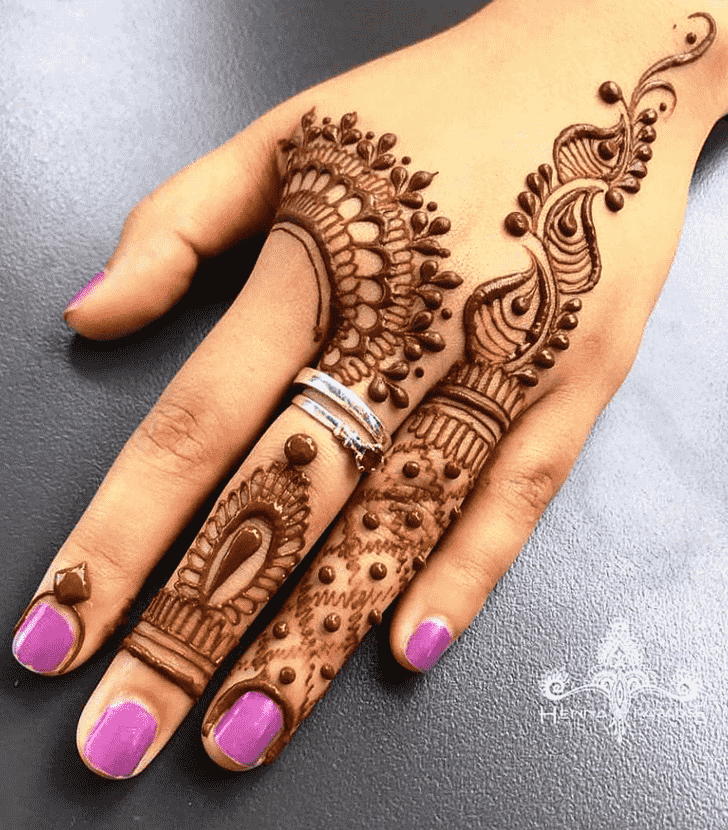 Bewitching Vancouver Henna Design